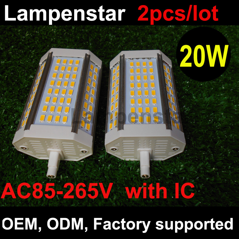 Best Promotion R7S 30W 3000LM 118mm 64 SMD5730 Warm White/White LED Light Bulb 85-265V lexing r7s 10w 980lm 30 smd 5730 led warm white light project lamp ac 85 265v