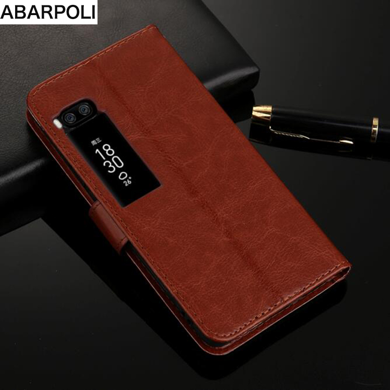 For Meizu Pro7 Plus  Leather PU Slot Wallet Stand Case Book Flip Case on meizu pro 7 plus Wallet Stand Hold Case for Meizu pro 7