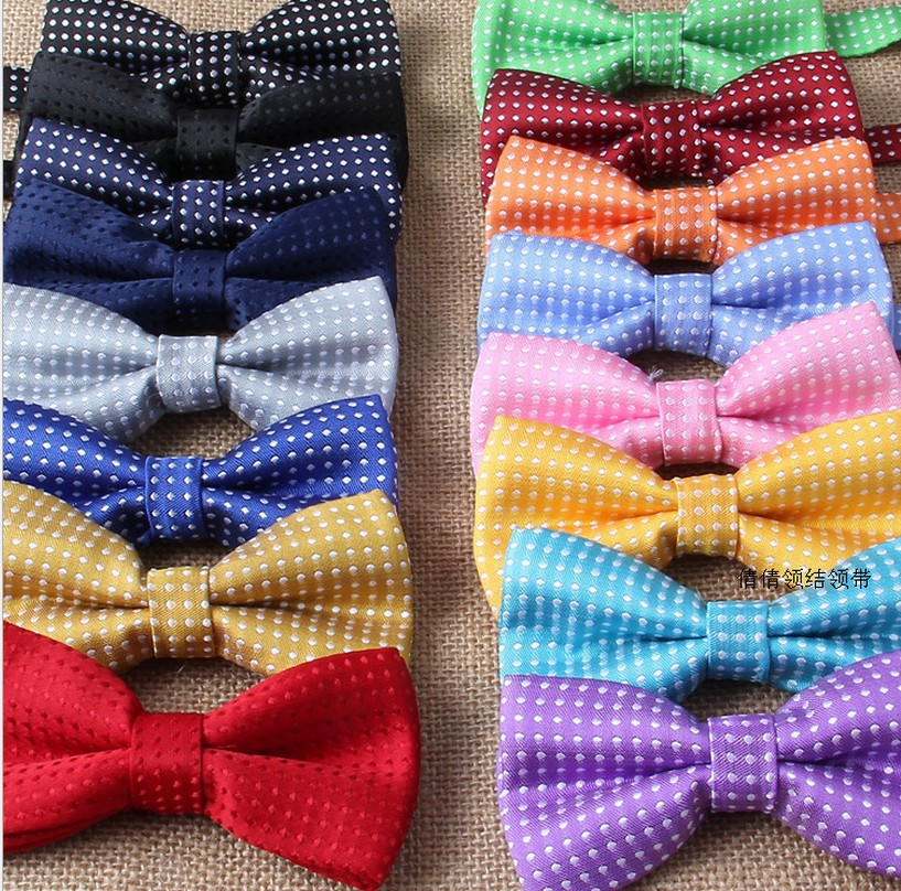 free shipping baby bow tie baby bow Baby dot bow tie/ child polka dot bow tie 10pcs/lot