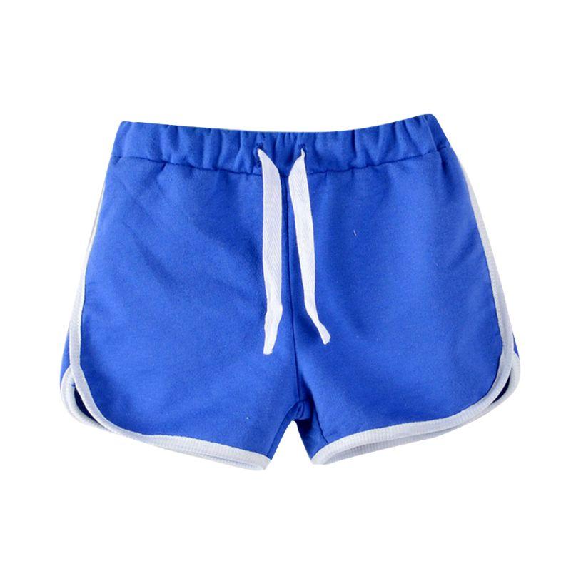 Для мальчиков шорты для девочки Детские пляжные штаны Карамельный цвет шорты детские штаны 3-13Years