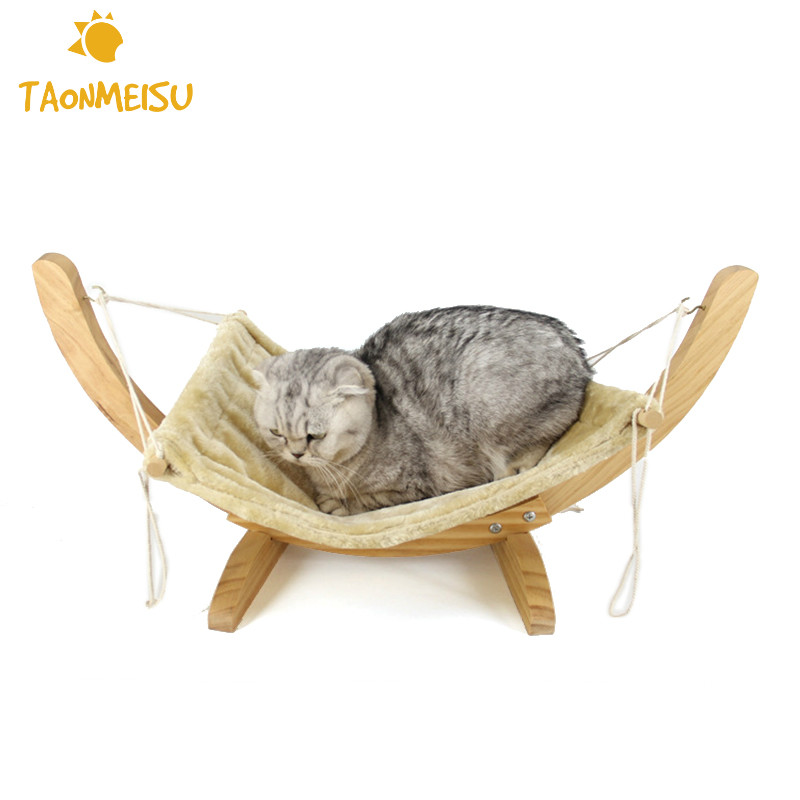 Home & Garden Cat Supplies Humorous 2 Layers Warm Hanging Cat Bed Mat Soft Cat Hammock Winter Hammock Pet Kitten Cage Bed Cover Cushion Evident Effect