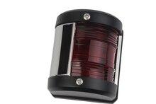 Luz LED de navegación para barcos de 12 V, luz de proa de navegación, luz roja/Verde/blanca de estribor