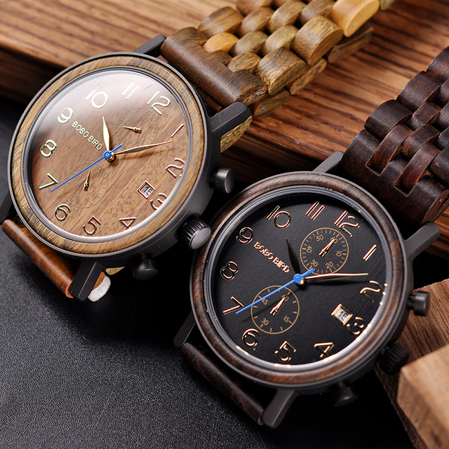 Wooden Stylish Men's Watch