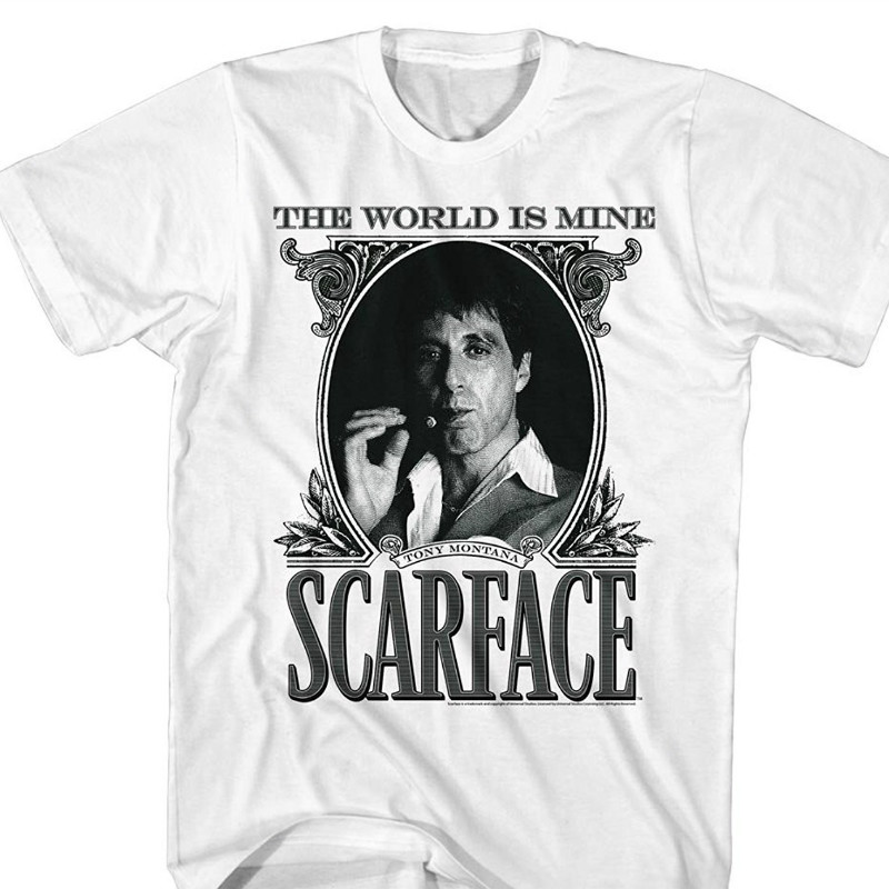 cd0c2f84 High Quality Personality Scarface The World Is Mine Crime Movie Al Pacino  As Tony Montana Adult