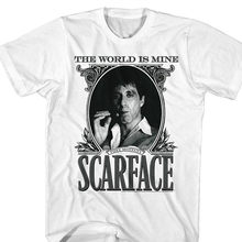 9c576b14 High Quality Personality Scarface The World Is Mine Crime Movie Al Pacino  As Tony Montana Adult T-shirt