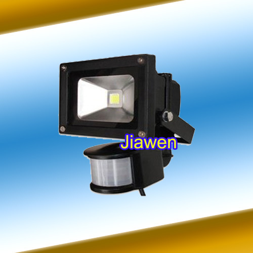 10W 20W LED Floodlight Flood Lamp PIR Motion Sensor Outdoor Motion Sensor Light 85V-265V