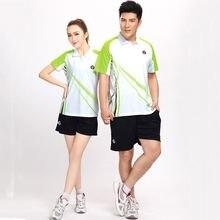 Мужские и женские трикотажные изделия для настольного тенниса