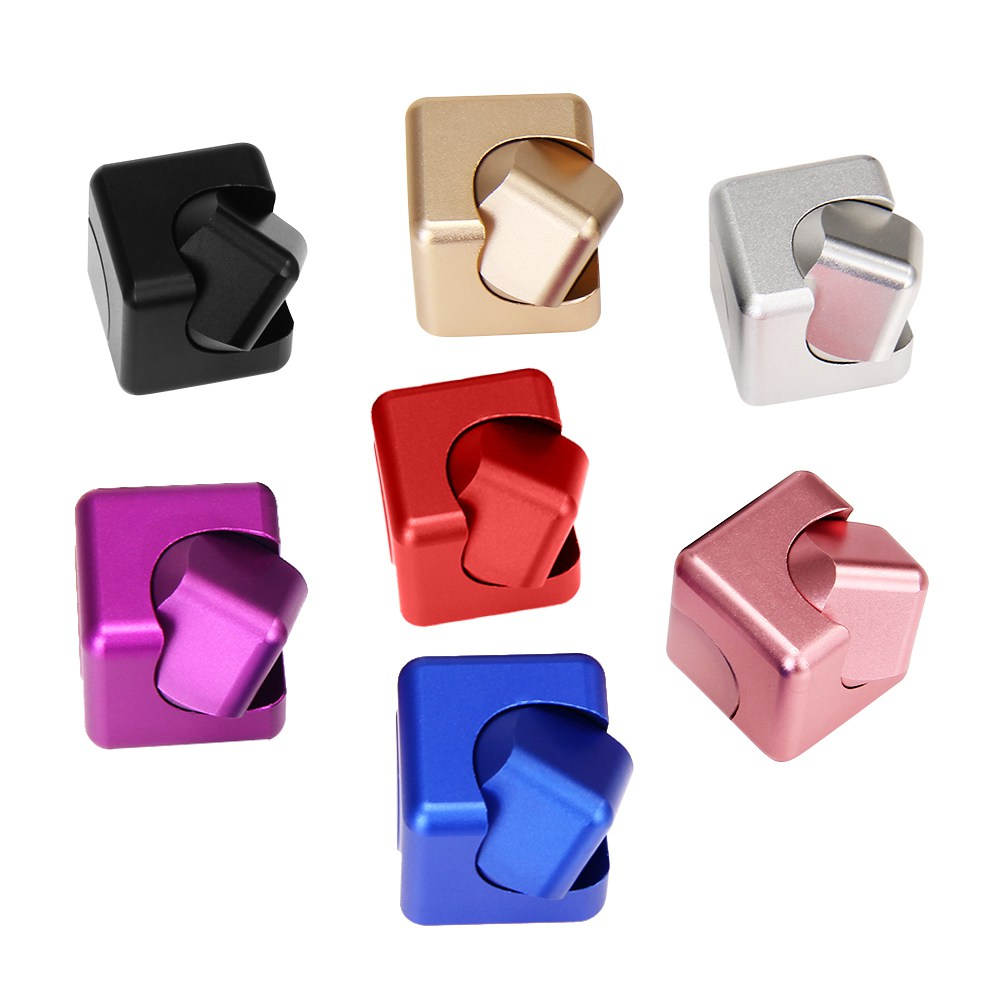 New Magic Cube Hand Spinner Aluminum Alloy Whirlwind Finger Spinner EDC for Autism and ADHD Decompression