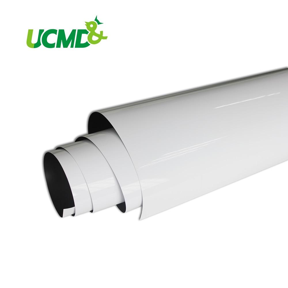 Morbido Lavagna Copriletto per la Parete di 2 m x 1 m x 0.3 millimetri di Grandi Dimensioni Dry Erase Magnetica Flessibile Bianco bordo per la Camera Dei Bambini
