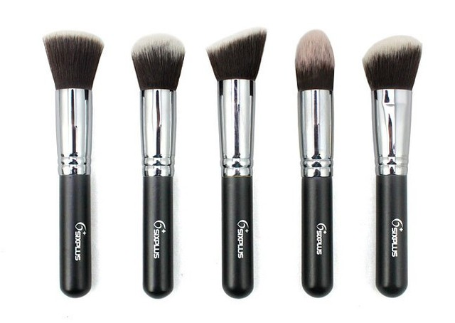 2013 FREE SHIPPING 5 pcs different style Advanced Artificial Fiber Makeup brushes #1