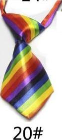 Модный галстук с принтом для мальчиков; Детский галстук; маленький галстук - Цвет: 20