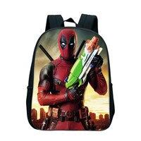 5d35b1b81373b 12 Inch Deadpool Backpack Rucksack Girl Boys School Bag Travel Laptop Bag  Kindergarten Bookbag For Children