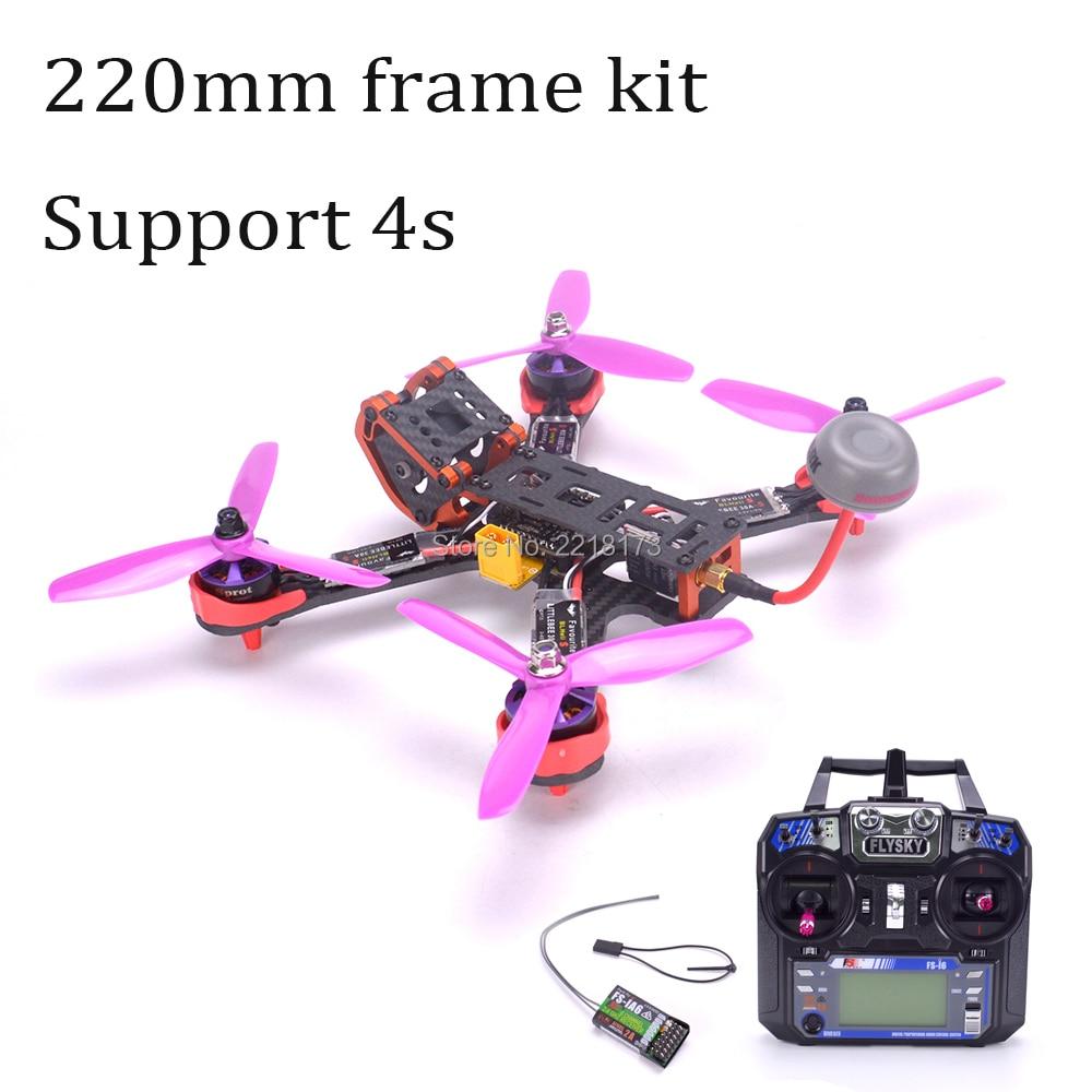 Chameleon FPV Frame 220 220mm Quadcopter Naze32 Rev6 6DOF 2205 2300kv motor Littlebee 30A BLHeli-s ESC Flysky I6 FS-I6 for PUDA аккумулятор iwalk chameleon immortal i6 100146st black