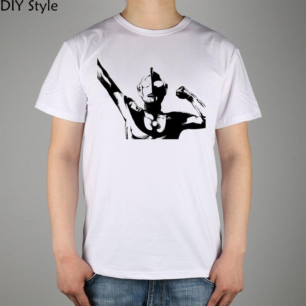 Ultraman Universe Favourites t-shirt Top Lycra Cotton Men T Shirt