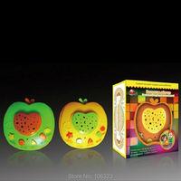 Russische Mooie Apple Vorm Baby Bedtime Knipperende Verhalen Teller, rusland Taal sprookjes, kinderliedjes, liedjes, slaapliedjes