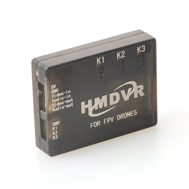 Ormino FPV Kit HMDVR Mini DVR Video Audio Recorder 5V PAL NTSC Quadcopter Diy Drone