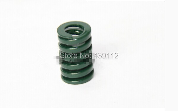 free shipping 16mm x 8mm x 65 mm heay load, mould, die spring rectangular wire, green 10pcs/lot купить в Москве 2019