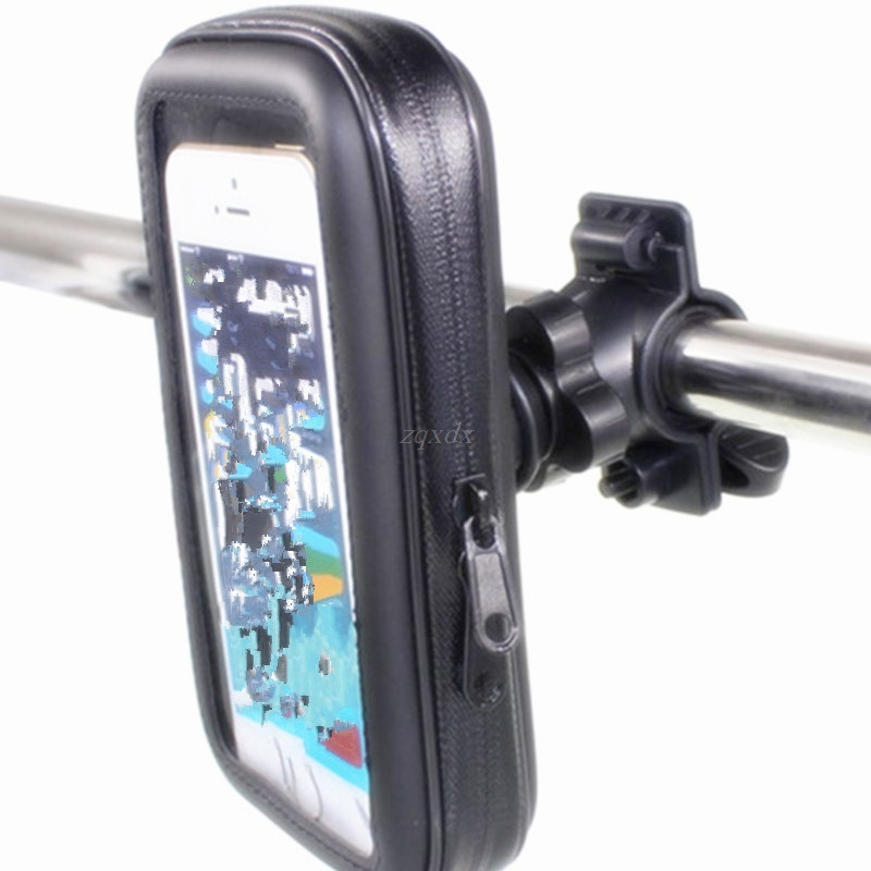 Bycicle Mobile Phone Holder Motorcycle Waterproof Pocket Scooter For Iphone Samsung HTC Sony Drop Ship