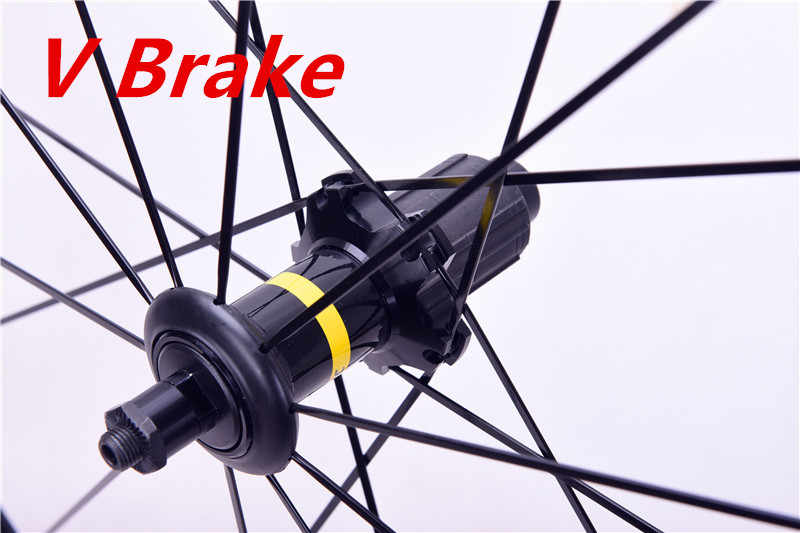 2018 haute qualité ventes de chaleur 700C haute 40mm V frein disque alliage vélo roues frein Bmx vélo route roue. Cosmic Elite S