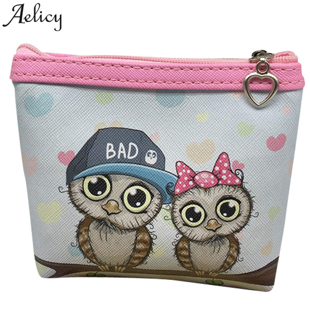 Aelicy Owl Coin Purse Change Womens Purses and Ladies Handbags Women Wallet for Credit Card Holder Clutch Zipper Coin Bag PouchAelicy Owl Coin Purse Change Womens Purses and Ladies Handbags Women Wallet for Credit Card Holder Clutch Zipper Coin Bag Pouch