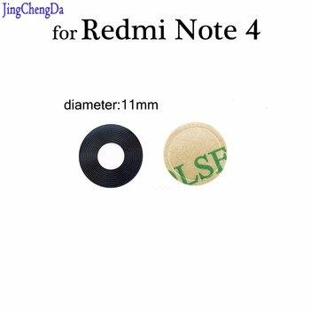 JCD для Redmi Note 4 стеклянная крышка объектива камеры задний тыловой объектив камеры с клейкой наклейкой для Xiaomi для redmi note4