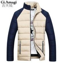 Новый 2016 Зимняя Куртка Мужчины Высокого Качества Толщиной Хлопок Мужчины Одежда Изнашивании Теплая Куртка Пальто 4 цвета Плюс Размер 3XL NYD013