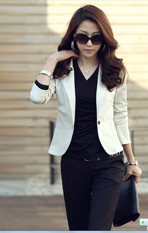 Mr.Nut 2019 New Spring And Autumn Wear Ladies Korean Fashion Casual Slim Small Suit Short Coat
