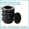 N-AF-B Meike Auto Foco Set Tubo de Extensão Macro Anel para Nikon D7100 D7000 D5100 D3100 D5300 D800 D600 D300s D300 D90 D80