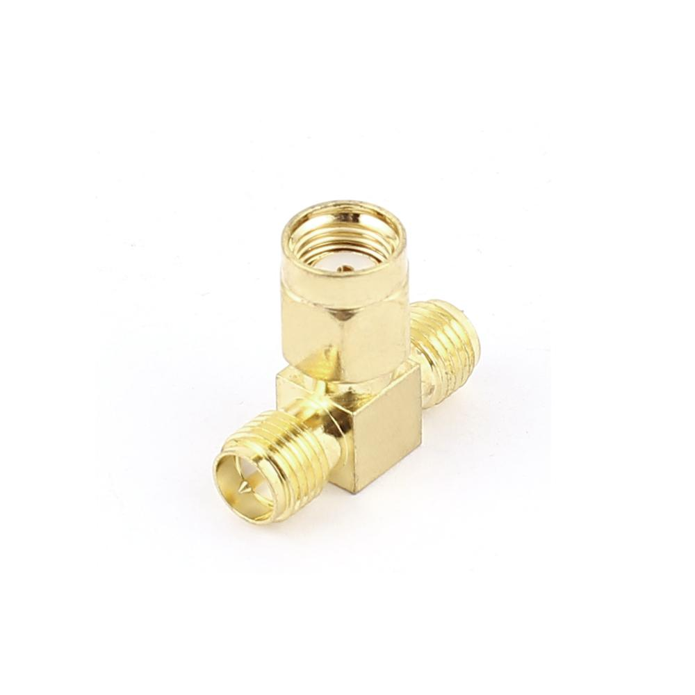 цена на Rp-Sma Female To 2 Rp-Sma Male Coaxial Cable Adapter For Router Nic