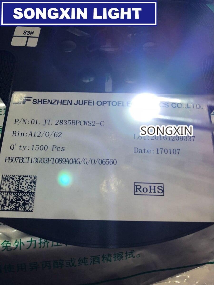 1000pcs Jufei Led Backlight 1210 3528 2835 1w 3v 107lm Cool White 6v Ultrabright Chaser Circuit 96lm Lcd For Tv
