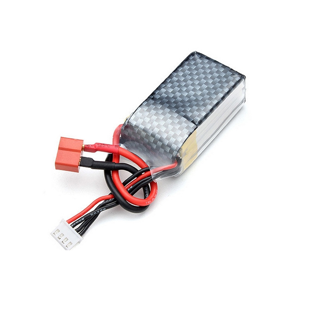 1pcs 11.1V <font><b>850mAh</b></font> 20C <font><b>3S</b></font> <font><b>Lipo</b></font> Battery T plug For RC Models Airplane Helicopter Car Boat Quadcopter image
