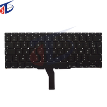 "original FR keyboard for apple macbook air 11"" A1370 A1465 FR France French keyboard without backlight backlit 2011-2015year"