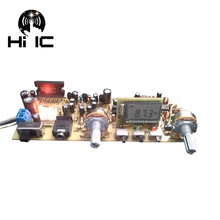 Stereo FM Radio Board Digital Frequency Modulation Radio Board Serial Port DIY FM Radio TA8122 TA2111 Accessories
