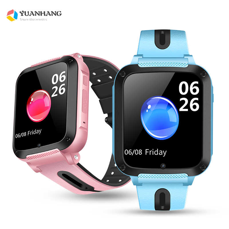 Smart GPRS LBS Location Remote Monitor Camera Bluetooth Music Play Waterproof Wristwatch Tracker Kids Son Student Whatsapp Watch