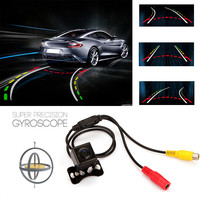 Easy View Steering Dynamic Guided Parking Line Markings Car Vehicle Rear View Camera Back Len 135