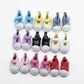 9 Цветов 5 см Холст Обувь Для 1/6 BJD Куклы Моды мини Игрушки, Обувь Bjd Обувь для Российских Тильда Кукла обувь et014