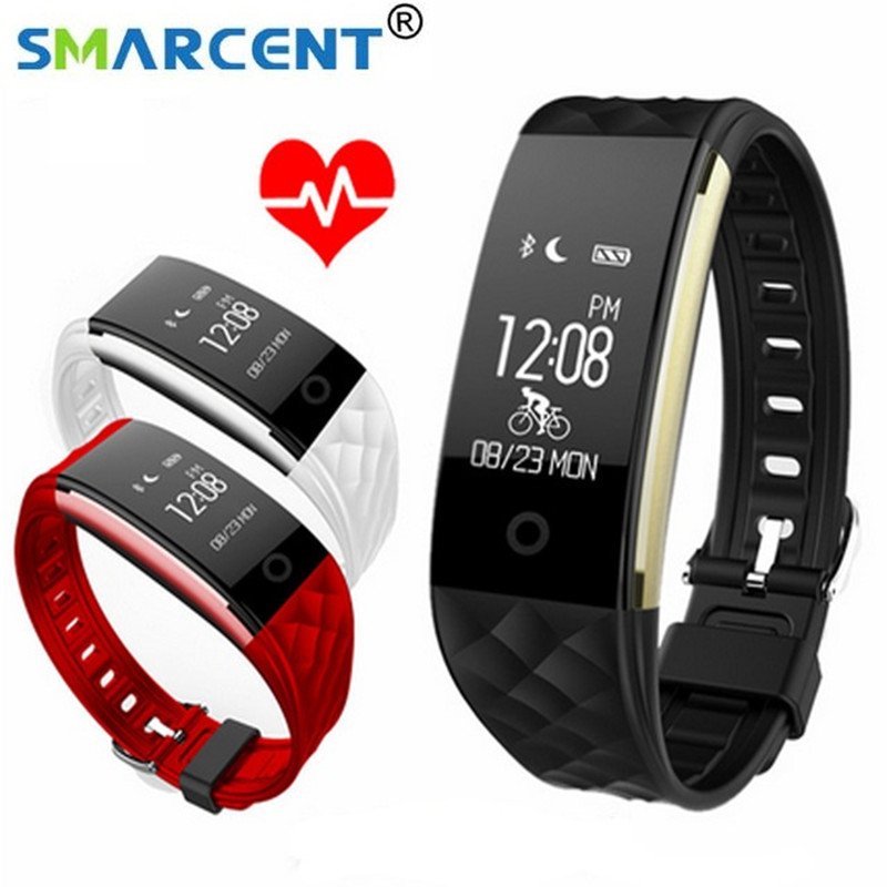 2017 New S2 Smart Band Wristband Bracelet Heart Rate Monitor Pedometer IP67 Waterproof Smartband Bracelet For