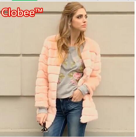 Online Get Cheap Womens Pink Plus Size Fur Coats -Aliexpress.com ...