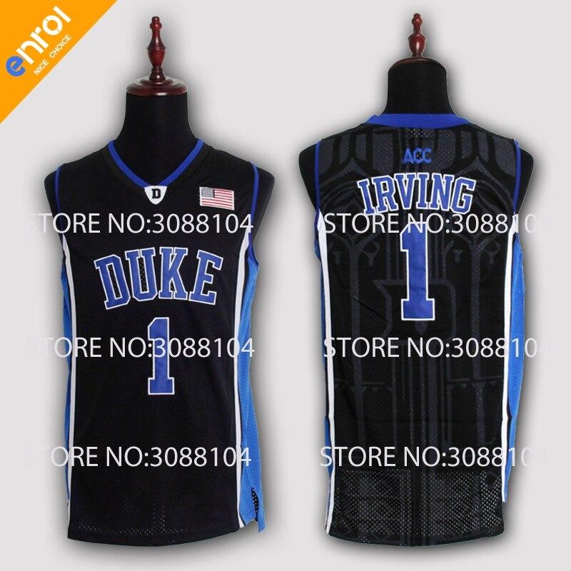 1ab5490d48f Cheap Kyrie Irving Basketball Jerseys 1# Duke University Blue Devils High  Quality Throwback Stitched Commemorative Retro Shirts   Cheap NBA Jerseys    ...