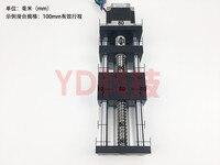 High Precision GGP 200MM Ball Screw 1204 1605 1610 Slide Rail Linear Guide Moving Table+1Pcs Nema 23 motor 57 Stepper Motor