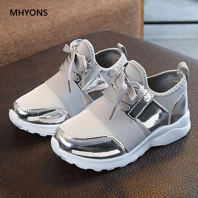 2019 Brand Spring/Autumn Children Shoes Boys Girls Sports Shoes Fashion Casual Breathable Outdoor Kids Sneakers Boy Running Shoe