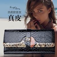 KAIDESE The European And European Fashion Big Name Python Lady S Hand Bag Of The New