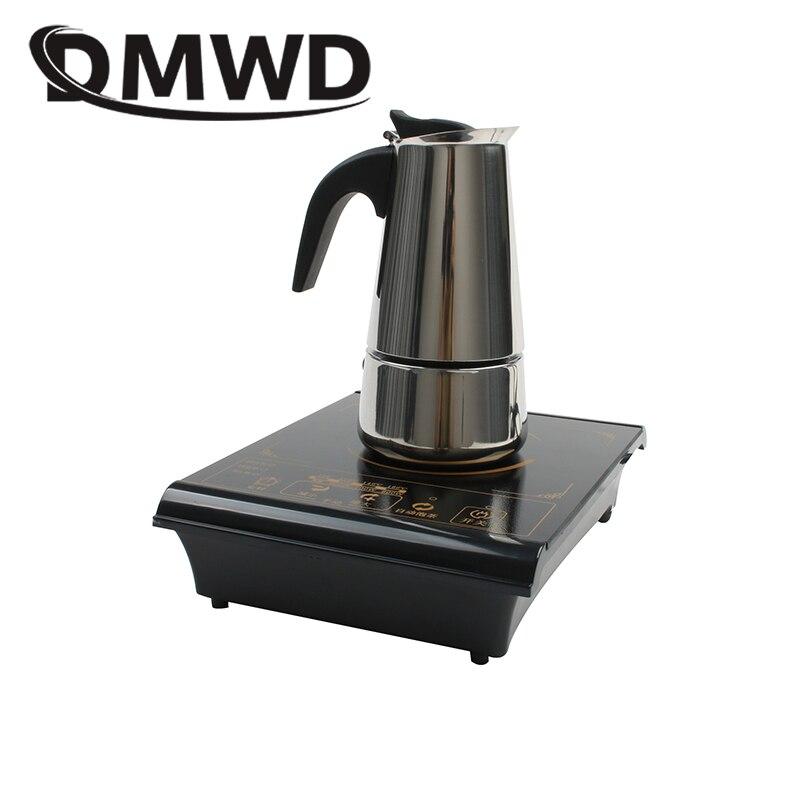 Многофункциональная электрическая мини-индукционная плита DMWD с нагревательной тарелкой для приготовления чая, кофе, лапши 2