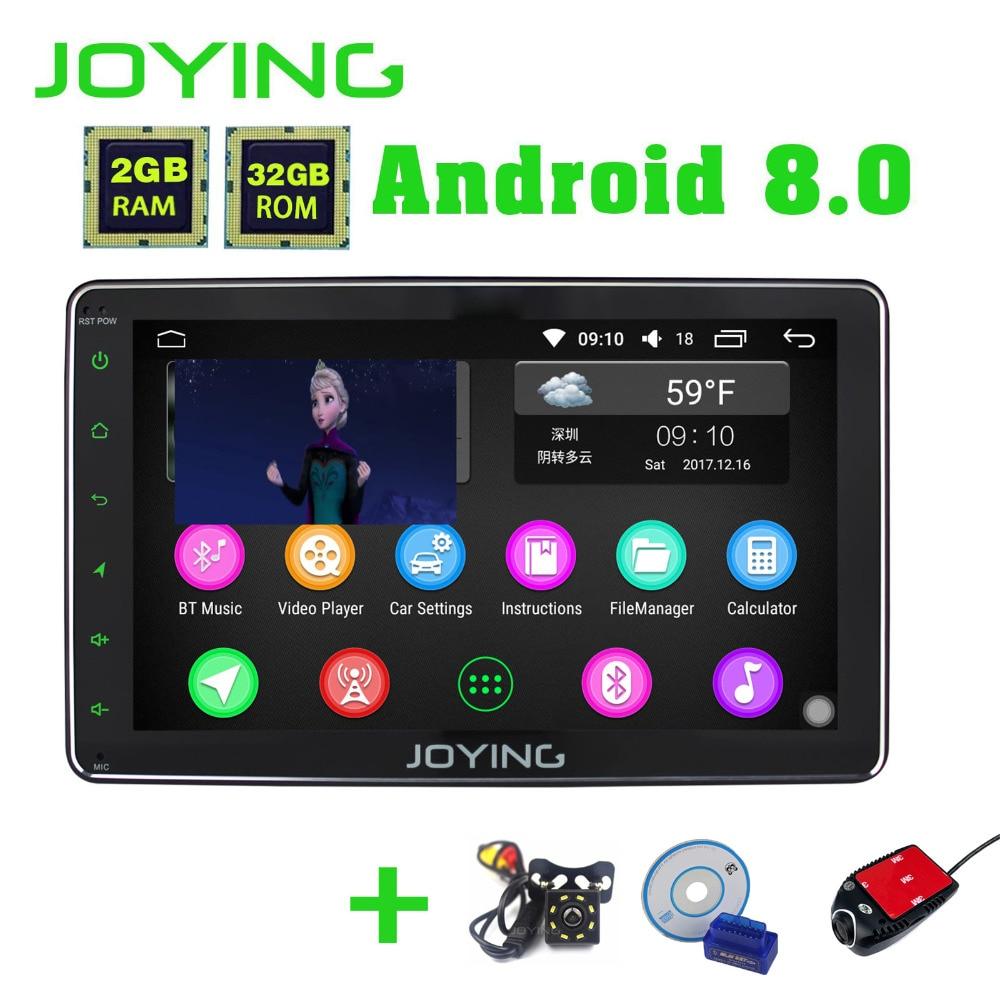 Радуясь 8 Core 8 Android 8,0 2 ГБ + 32 ГБ автомагнитолы 2 din стерео carplay для Toyota RAV4/Corolla/Hilux с DVR Cam сзади Камера OBD2