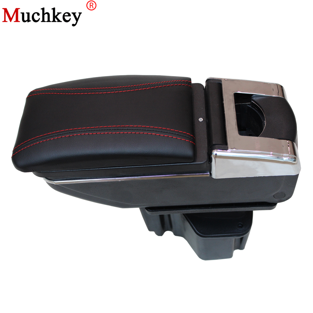 For KIA Rio K2 2011 2012 2013 2014 2015 Car Armrest Center Console Storage Box Auto Accessories Car-Styling for skoda octavia 2009 2010 2011 2012 2013 2014 2015 2016 armrest with usb leather car center console armrests storage box