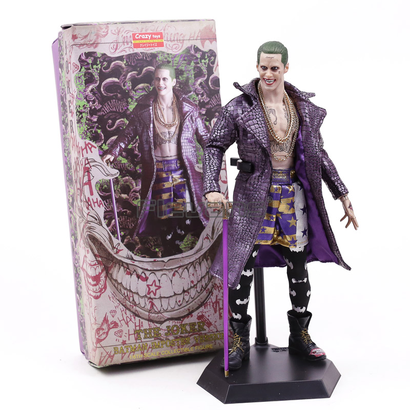 все цены на Crazy Toys Suicide Squad The Joker Batman Imposter Verson 1/6th Scale Collectible Figure Model Toy Gift онлайн