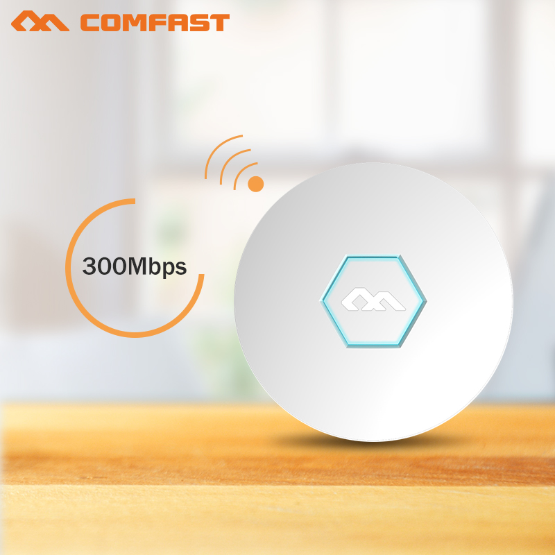 COMFAST CF-E325N Access point AP 300Mbps Ceiling AP wireless AP ATHEROS AR9341 Chipset WIFI router with 48V POE for hotel market ceiling ap router comfast cf e325n 300m wireless wifi router extender 2 4g router amplifier wifi access point wifi roteador