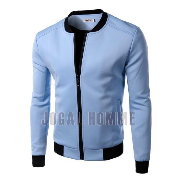 2016 New Arrival Men's Long Sleeve Casual Jackets O-neck High Quality Fashion Design Coat Man clothing
