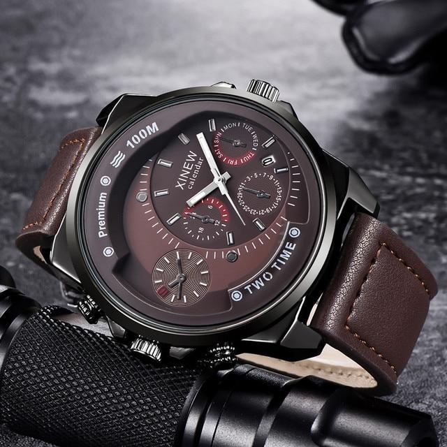 Men's Watches Famous Business Fashion Quartz Clock Wristwatch Mens relojes hombre 2019 relogios masculino zegarek meski