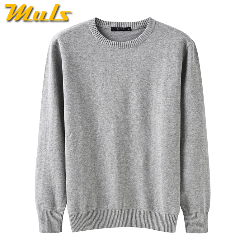 Pure cotton sweaters men best style O neck mens sweaters MULS ...